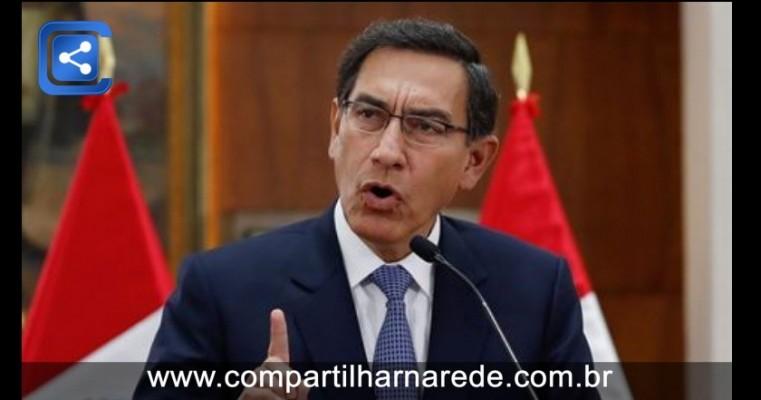 Presidente peruano afirma que deixará o poder ao fim de seu mandato