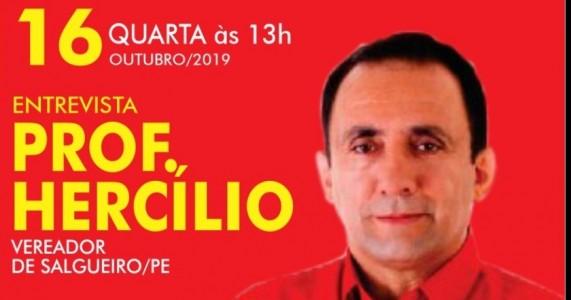 VEREADOR HERCÍLIO,  A TERCEIRA VIA VEM CRESCENDO MUITO EM SALGUEIRO
