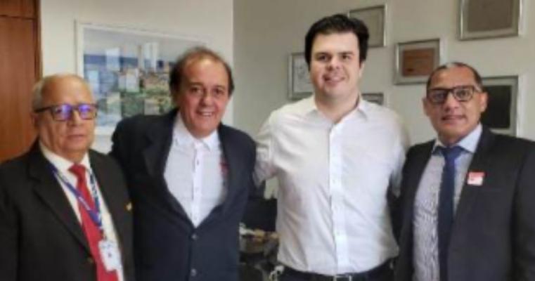 Serrita -Prefeito Erivaldo e Ex-Prefeito Carlos Cecílio estão em Brasília e se mostram otimistas com 2020
