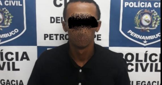 Polícia prende acusado de incendiar Escola Otacílio Nunes em Petrolina