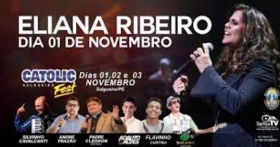 Fãs do Nordeste de Eliana Ribeiro prometem vir ao ao Catolic Fest, faltam 12 dias.