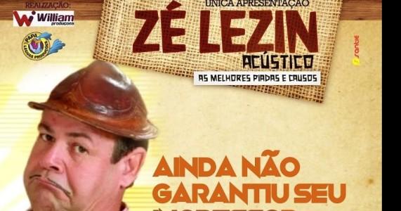 """Zé Lezin em Salgueiro"""": o show mais esperado dos últimos anos"""
