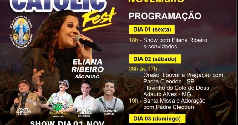 Organização do Salgueiro Catolic Fest divulga programação completa do evento