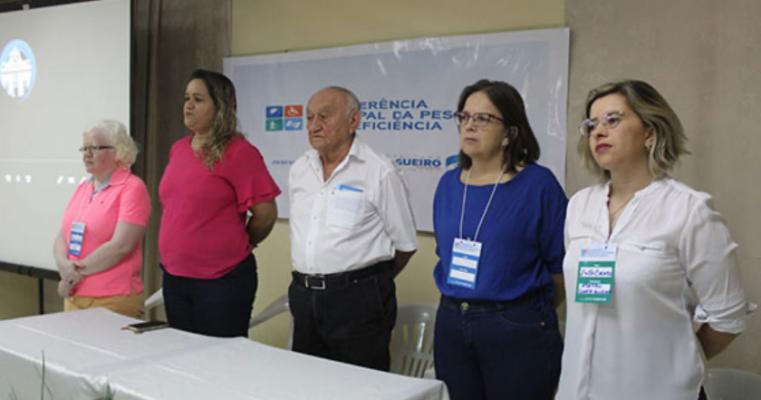 Município realiza I Conferência Municipal da Pessoa com Deficiência