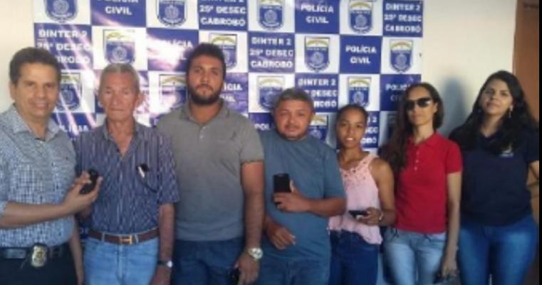 Polícia Civil recupera celulares roubados em Cabrobó