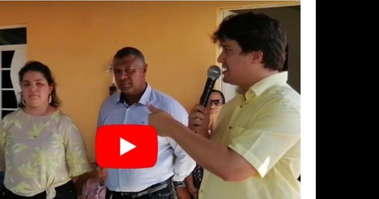 Prefeita Aline e o deputado Lucas Ramos levam água a 54 família da Malhada do Canto em Terra Nova
