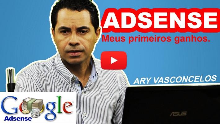 ADSENSE - Meus primeiros ganhos - Como receber $ do Google Adsense