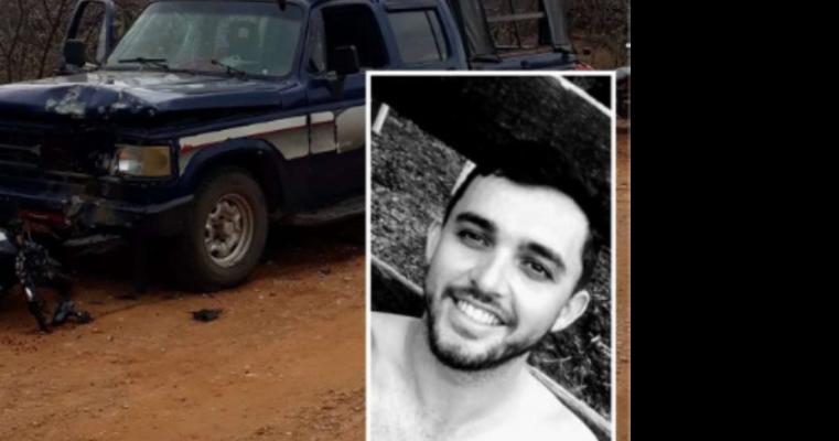 Acidente entre moto e caminhonete deixa jovem em estado grave em Salgueiro – PE