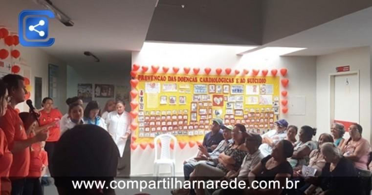 Setembro Amarelo/Vermelho: Prefeitura Municipal de Salgueiro realizou ações de prevenção ao suicídio e às doenças cardíacas