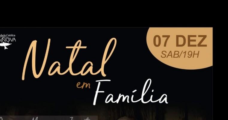 'Jantar Natal em Família' da Comunidade Boa Nova será sábado(07)