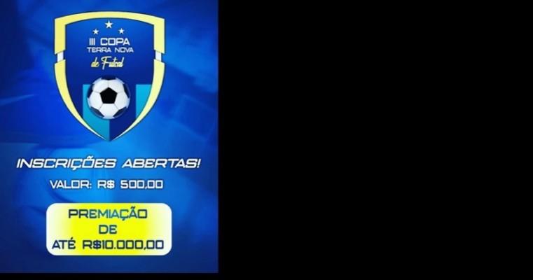 III Copa Terra Nova de Futsal está com inscrições abertas