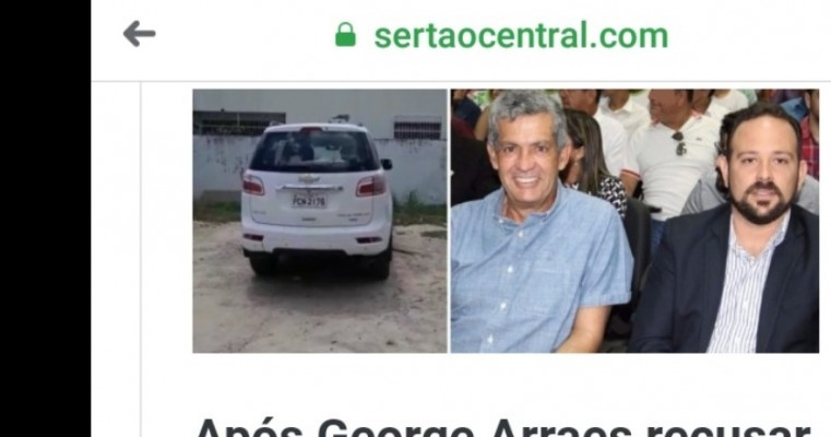 Prefeitura de Salgueiro emite nota de esclarecimento sobre solicitação para Câmara devolver veículo