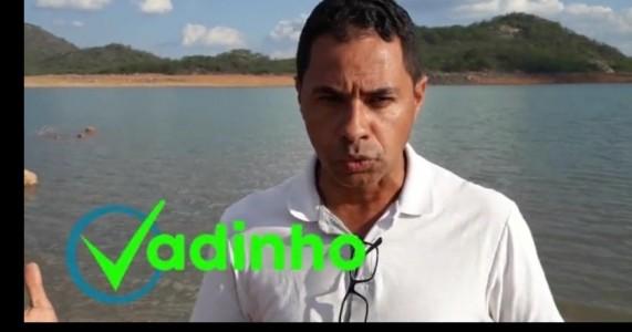 SALGUEIRO, PE: NOVA ADUTORA* para a cidade de Salgueiro. Ex vereador Vadinho faz apelo ao governador de Pernambuco