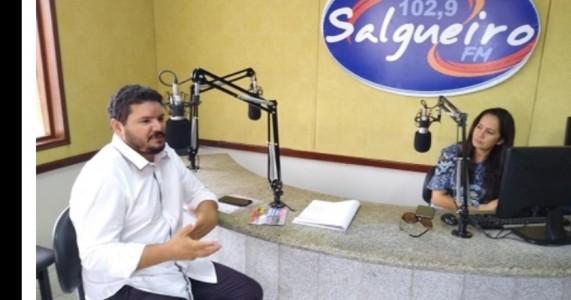 PADRE Ze Nilton visita Salgueiro para divulgar bingo em prol da construção de Casa de Acolhimento