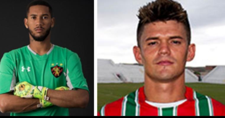 Salgueiro anuncia volta do zagueiro Ayrton Alemão e a contratação do goleiro Lucas Ferreira
