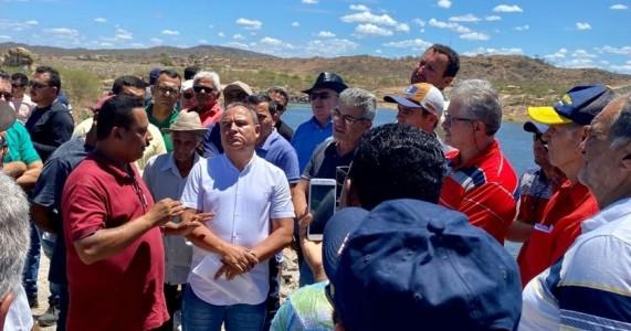 GEO CALDAS COMEMORA SUCESSO DE MAIS UM ATO PELA PERENIZAÇÃO DO RIO CAPIBARIBE