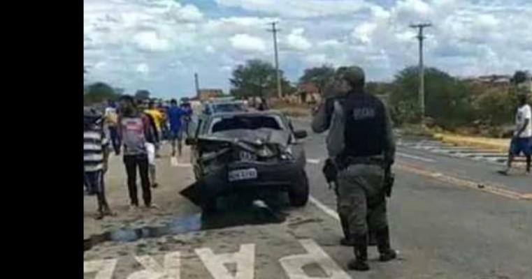 Duas irmãs morrem em grave acidente em Afogados da Ingazeira
