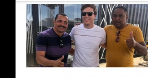Diretor da Autêntica Pesquisas se encontra com Miguel Coelho e Jaques Canturio