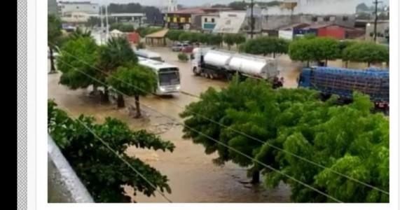 Inmet emite alerta de chuvas intensas em Salgueiro e outros 36 municípios pernambucanos