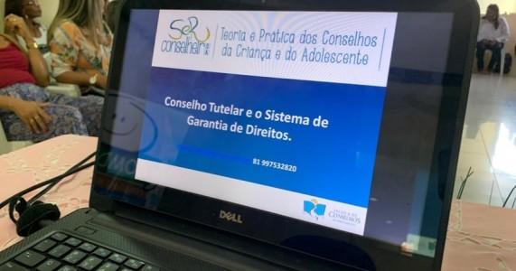 Salgueiro sedia oficina de capacitação de Conselheiros Tutelar eleitos na região
