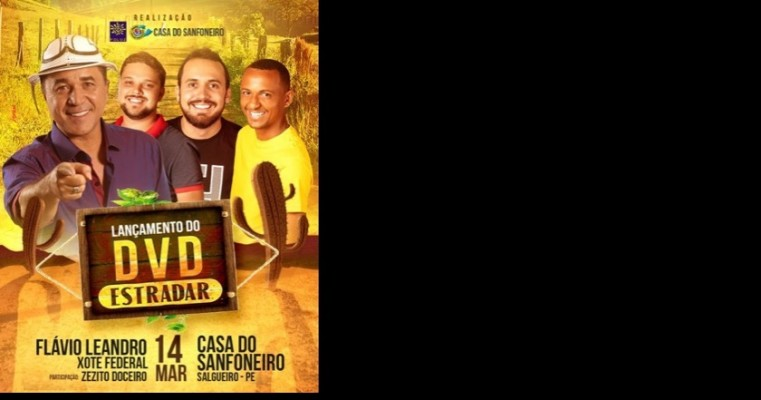 De volta a Salgueiro, Flavio Leandro lançará DVD na Casa do Sanfoneiro