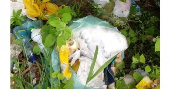 Salgueiro – Moradores reclamam de lixo jogado à beira de estradas no Sítio Uri