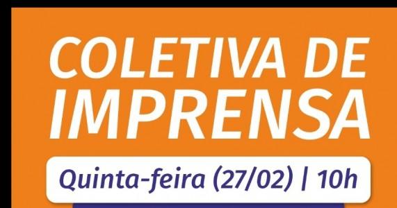 COLETIVA DE EMPRESAS COM O PREFEITO  CLEBEL CORDEIRO