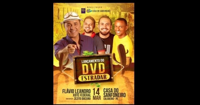 FLÁVIO LEANDRO LANÇA SEU 4° DVD DIA 14 DE MARÇO EM SALGUEIRO-PE