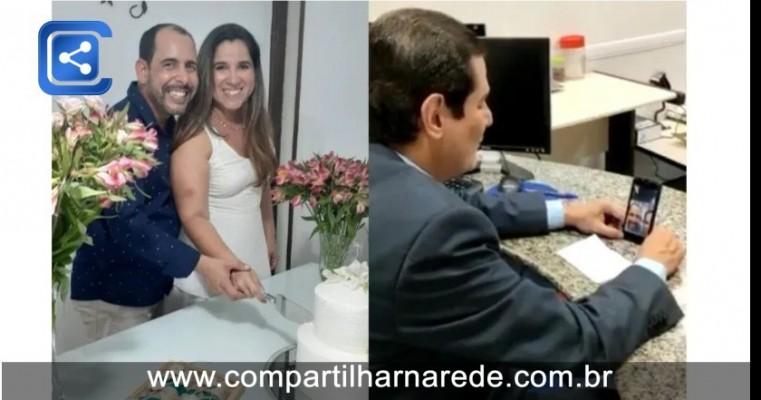 Coronavírus: Quatro casamentos pela internet foram realizados em Petrolina