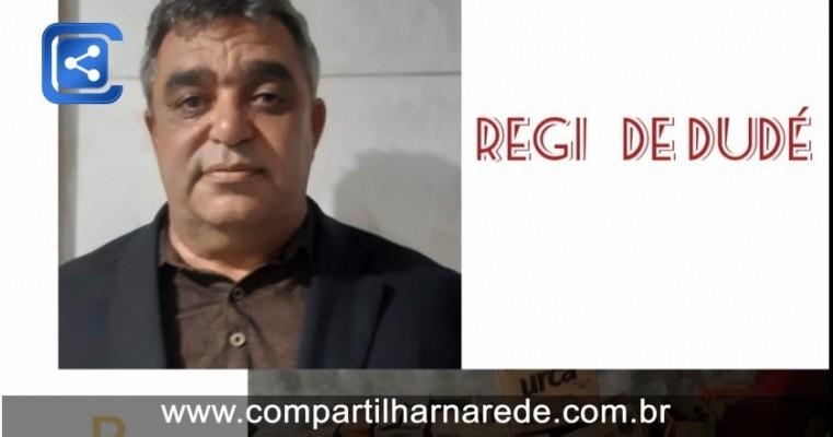 Vereador Regi de Dudé do (PSB) destina 30% do seu salário para compras de sestas básicas e álcool em gel