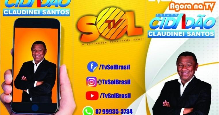 Estreia da TV Sol nesta quinta-feira reforça a comunicação no Sertão pernambucano