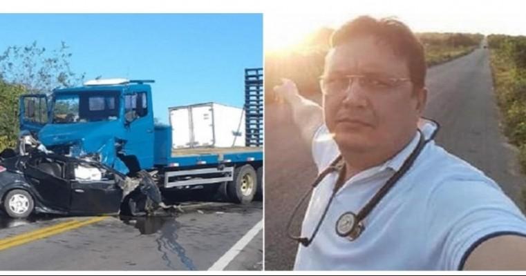 Médico milagrense morre em acidente de trânsito na BR-232, próximo ao município de Custódia,
