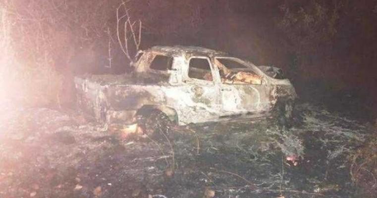 Carro pega fogo na BR 428 entre Cabrobó e Orocó