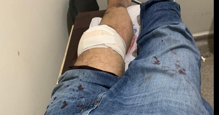 Salgueiro: empresário e pré-candidato a vereador Gustavo Novaes acaba de sofrer acidente de moto