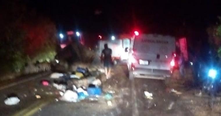Grave acidente deixa feridos e vítimas fatais na BR-316 entre Belém do São Francisco e Itacuruba, no Sertão de PE