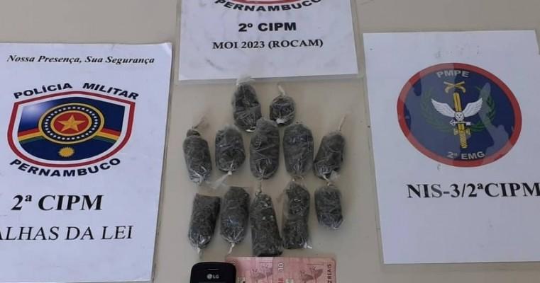 Cabrobó-PE polícias da 2° CIPM prendem homens por tráfico de drogas e adulteração de chassi