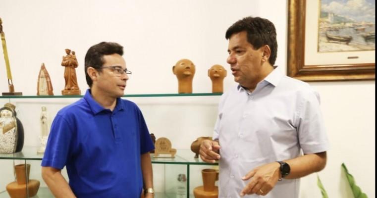 Mendonça Filho recebe apoio de Pastor Jairinho