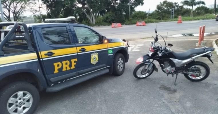 Polícia de Pernambuco e Alagoas recupera motos roubadas em Arapiraca