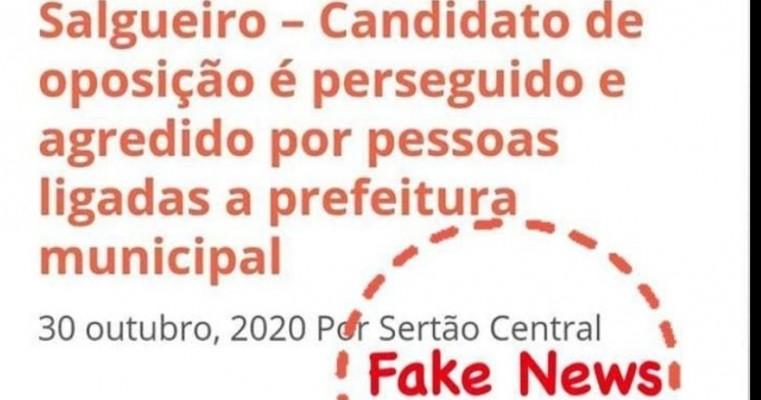 Blog conhecido por espalhar fake News ataca novamente