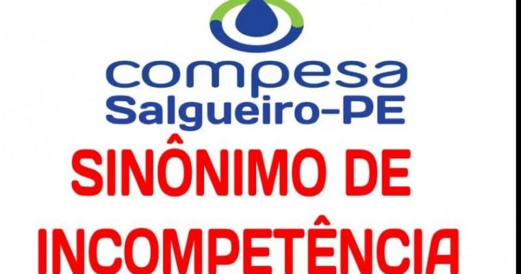 Salgueiro-PE: COMPESA mantém o descumprimento do Calendário de Abastecimento d'agua