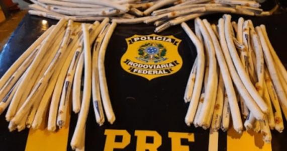 PRF apreende explosivos e detonadores em Sertânia no Sertão de Pernambuco