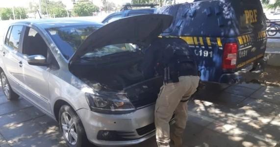 PRF recupera em Petrolina carro que havia sido roubado na cidade de Natal