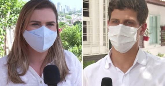 Datafolha no Recife: Marília Arraes, 43%; João Campos, 40%