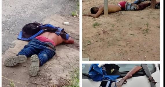 Salgueiro-PE assaltantes são mortos a tiros na BR-232 no sítio URI