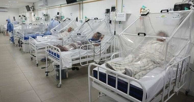 Oxigênio acaba em hospitais de Manaus