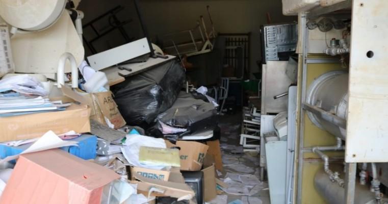 Prefeitura de Tabira encontra galpão com materiais abandonados