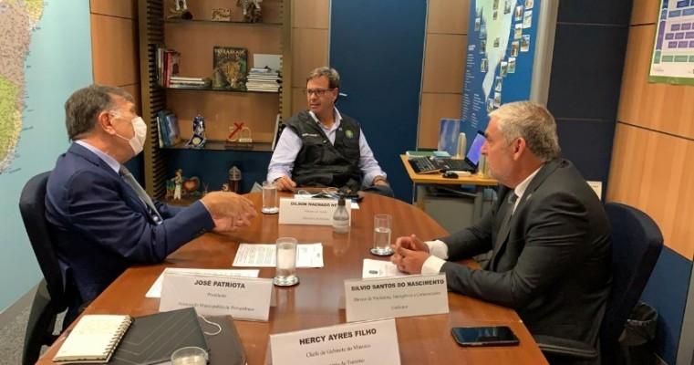 Patriota se reúne com ministro e busca fortalecer Turismo