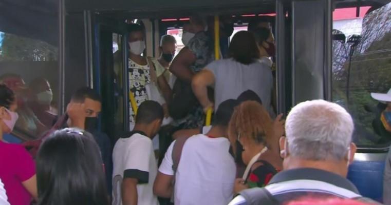 Superlotação em ônibus no Grande Recife é alvo de auditoria do Tribunal de Contas de Pernambuco