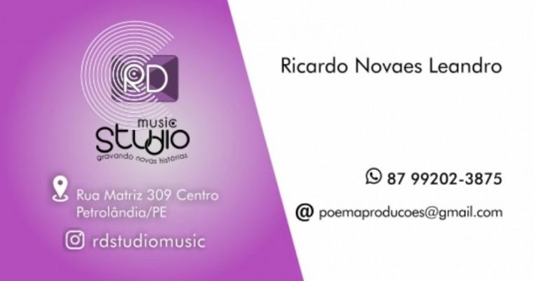 Petrolândia-PE agora tem RD Studio Music novidades no que há de melhor no mercado da música e propagandas