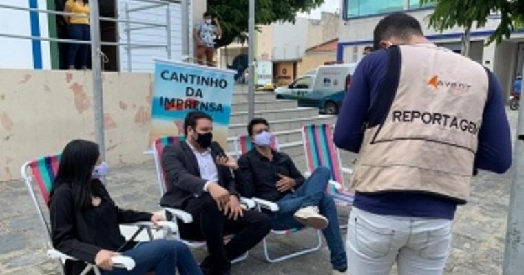 Imprensa de Santa Cruz protesta contra Câmara